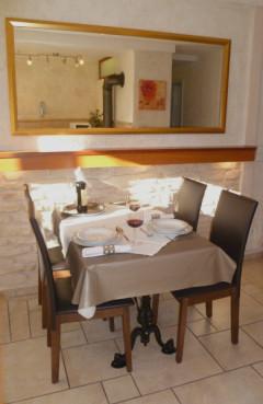 Wohnküche, Essecke, Küche Ferienwohnung