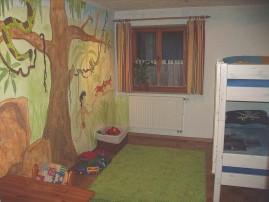 Kinderzimmer Dschungel, Urlaub Kinder, Villa Casa